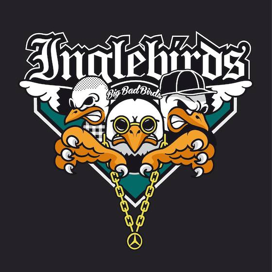 Inglebirds – Big Bad Birds Album Cover