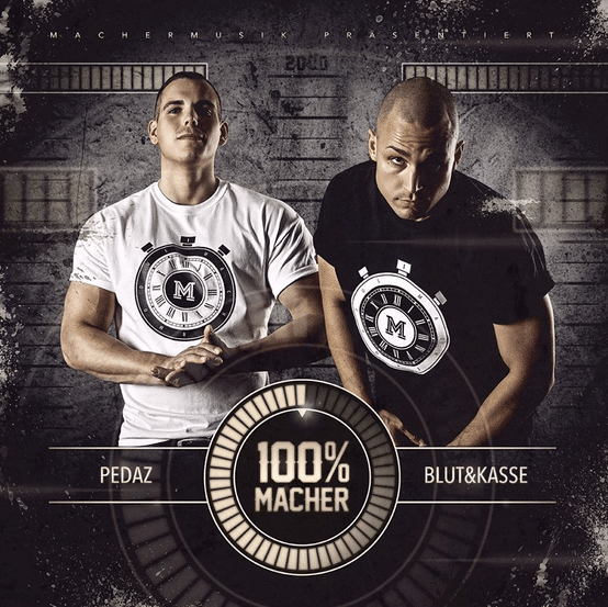 Pedaz & Blut & Kasse – 100% Macher Album Cover