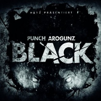 Punch Arogunz - Black EP Cover