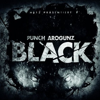 Punch Arogunz – Black EP Album Cover