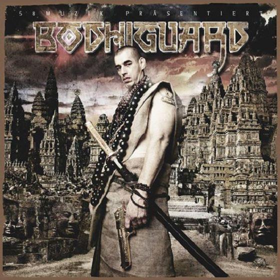 Absztrakkt & Snowgoons – Bodhiguard Album Cover