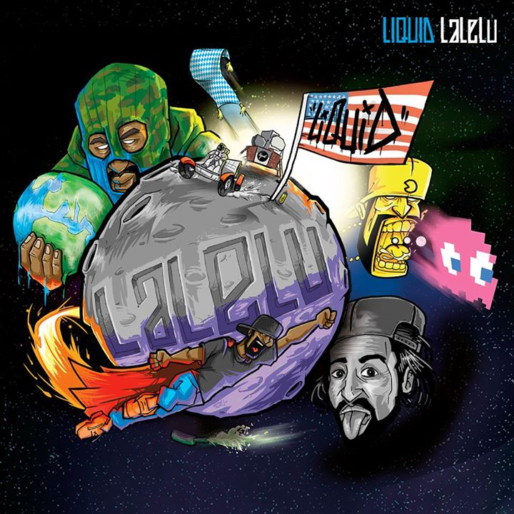 Liquid – La Le Lu Album Cover