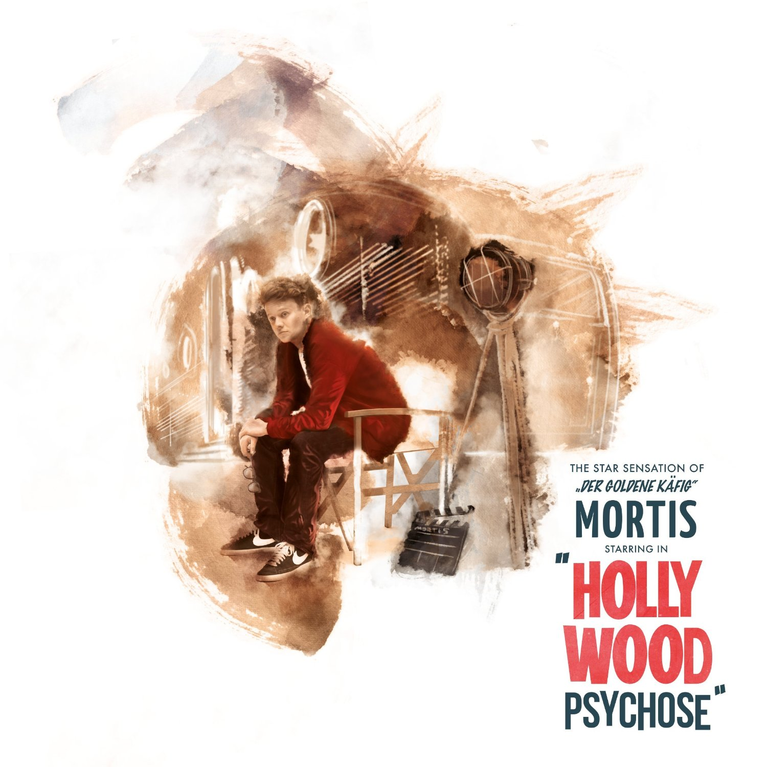Mortis – Hollywoodpsychose Album Cover