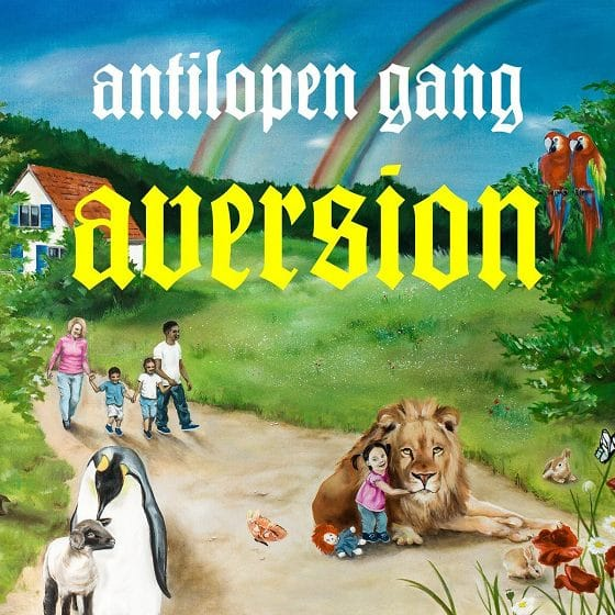 Antilopen Gang - Aversion Album Cover