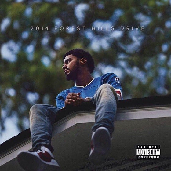 J. Cole – 2014 Forest Hills Drive Album Cover