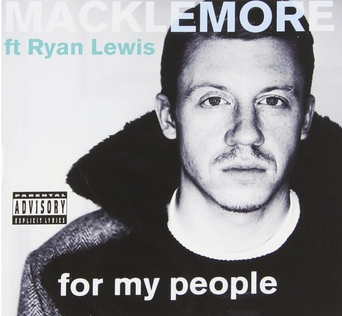 Macklemore & Ryan Lewis – For My People Album Cover