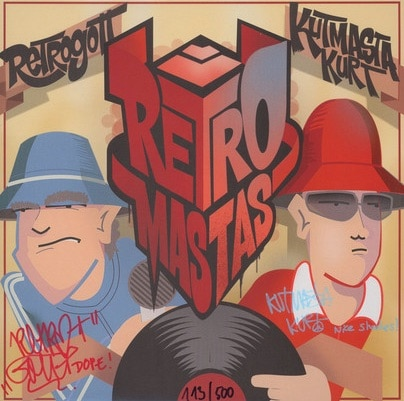 Retrogott & KutMasta Kurt – Retromastas EP Album Cover
