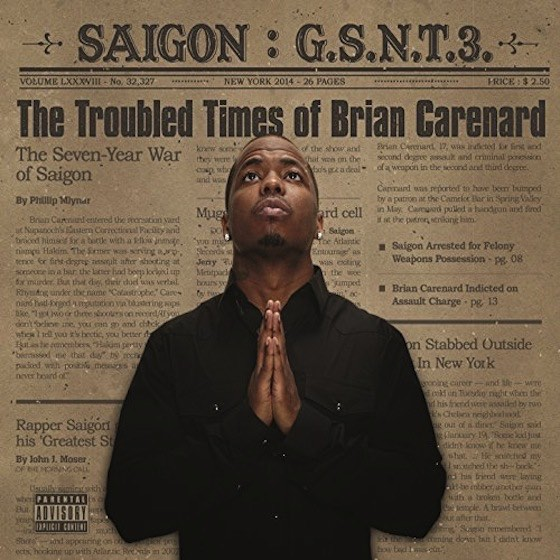 Saigon – The Troubled Times of Brian Carenard Album Cover