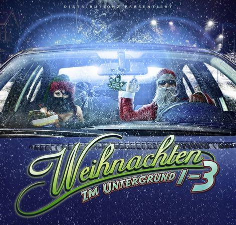 Verschiedene Interpreten – Weihnachten im Untergrund 1-3 Album Cover