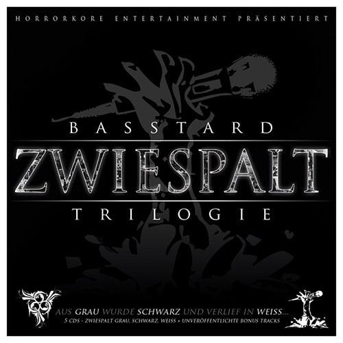 Basstard – Zwiespalt Trilogie Album Cover