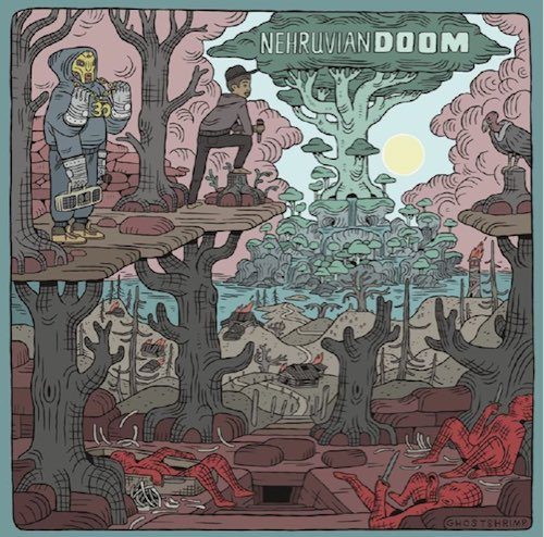 MF Doom & Bishop Nehru – NehruvianDOOM Album Cover