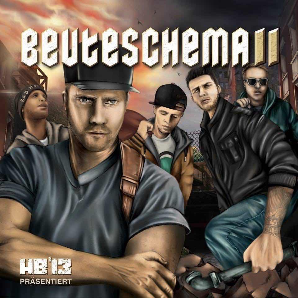 Halunkenbande Sampler – Beuteschema 2 Album Cover