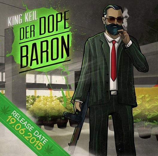 King Keil – Der dope Baron Album Cover