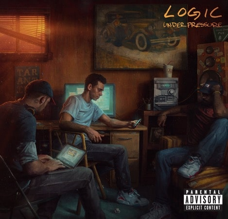 Logic – Under pressure Album Cover