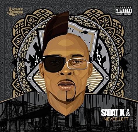 Sadat X – Never Left Album Cover