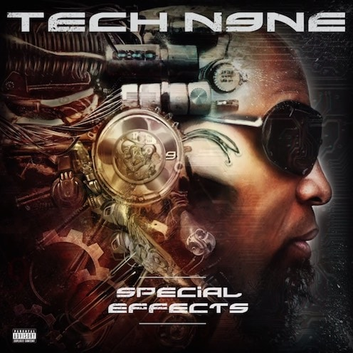 Tech N9ne – Special Effects Album Cover