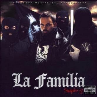 Amageddon Musik - La Familia Album Cover
