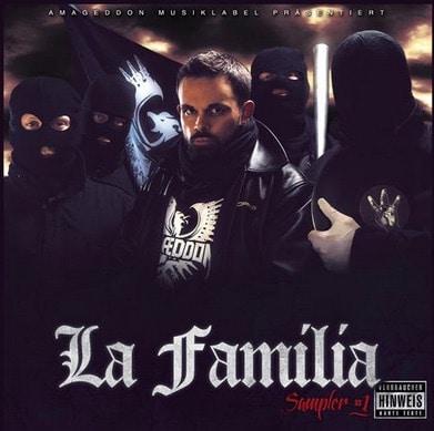 Amageddon Musik – La Familia Album Cover