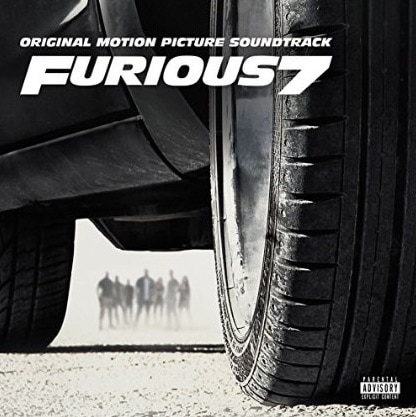 Furious 7: Original Motion Picture Soundtrack Album Cover