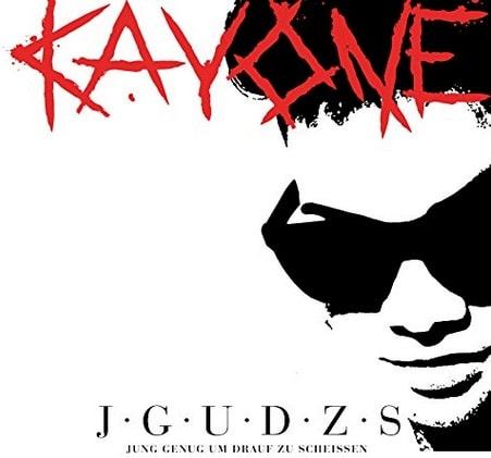 Kay One – Jung genug um drauf zu scheißen Album Cover