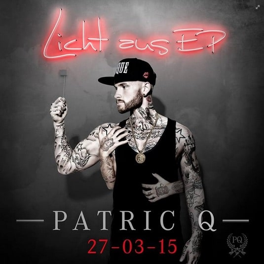 Patric Q – Licht aus EP Album Cover