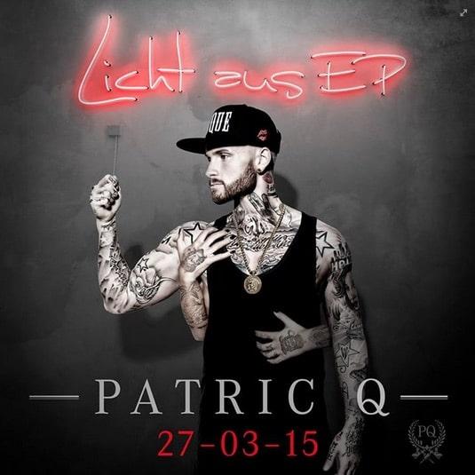 Patric Q – Licht aus EP Album Cover