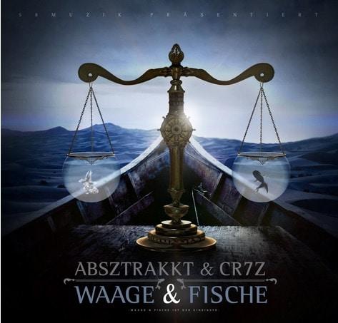 Absztrakkt & Cr7z – Waage & Fische Album Cover