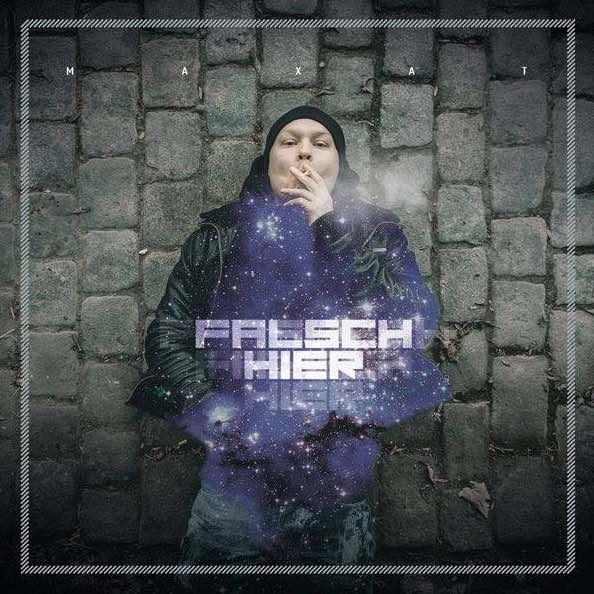 Maxat – Falsch hier Album Cover
