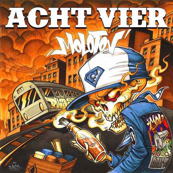 AchtVier – Molotov Album Cover