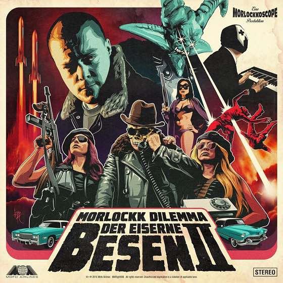 Morlockk Dilemma – Der Eiserne Besen II Album Cover