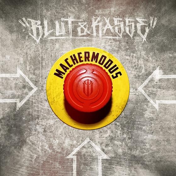 Blut & Kasse – Machermodus Album Cover