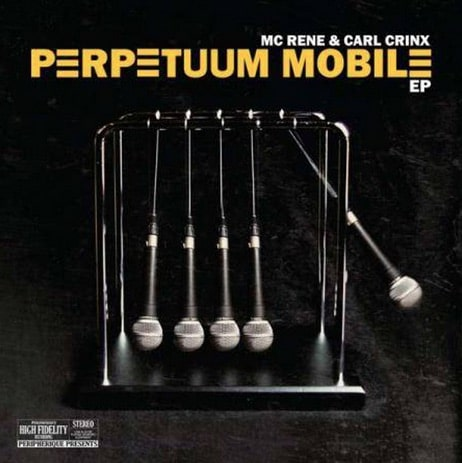 MC Rene & Carl Crinx – Perpetuum Mobile Album Cover