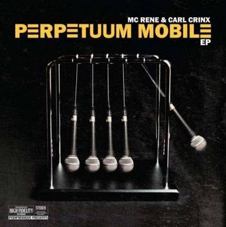 MC Rene & Carl Crinx – Perpetuum Mobile Album Cover