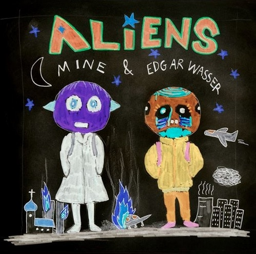 Mine & Edgar Wasser – Aliens Album Cover