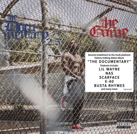 The Game – The Documentary 2.5 Album Cover