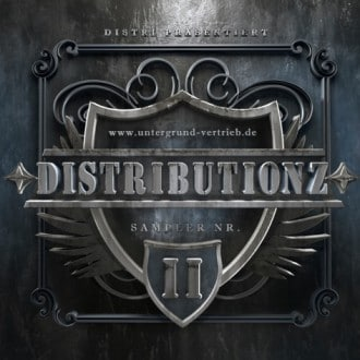 Distributionz Sampler Vol. 2 Album Cover