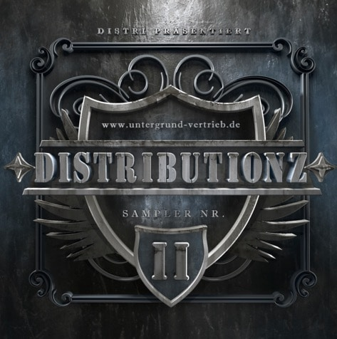 Various Artists – Distributionz Sampler Vol. 2 Album Cover