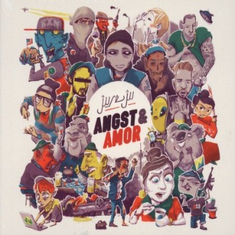 Juse Ju - Angst & Armor Album Cover