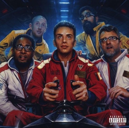 Logic - The Incredible True Story Album Cover