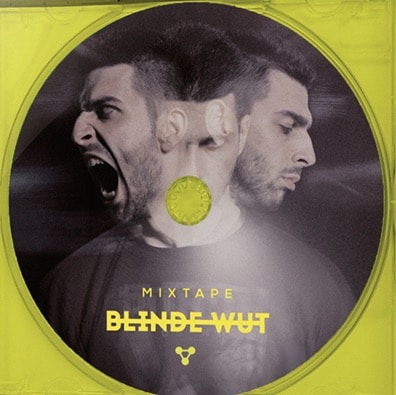 Punch Arogunz – Blinde Wut Mixtape Album Cover
