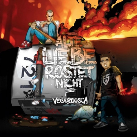 Vega & Bosca – Alte Liebe rostet nicht Album Cover