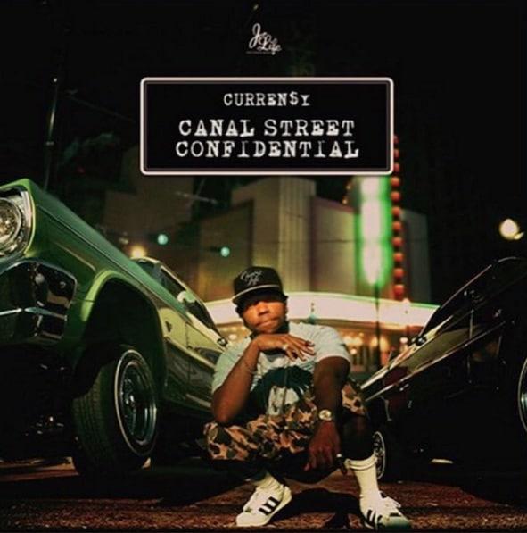Curren$y – Canal Street Confidential Album Cover