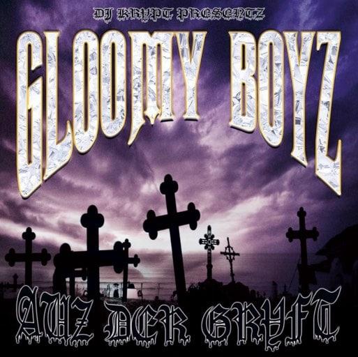 Gloomy Boyz – Auz der Grvft EP Album Cover