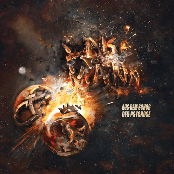 Lakmann – Aus dem Schoß der Psychose Album Cover