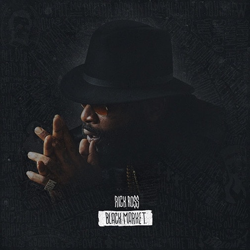 Rick Ross – Black Market Album Cover