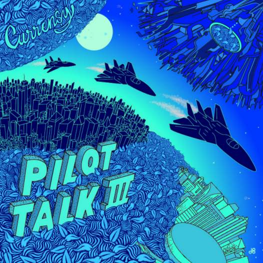 Curren$y – Pilot Talk 3 Album Cover