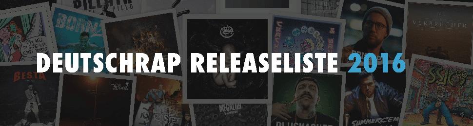 Deutschrap Releases 2016 Banner