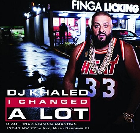 DJ Khaled – I Changed A Lot Album Cover