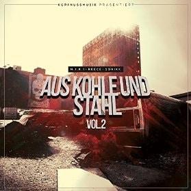 Miki- Reece - Sonikk - Aus Kohle und Stahl 2 Album Cover