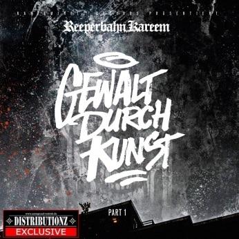 Reeperbahn Kareem – Gewalt durch Kunst Album Cover